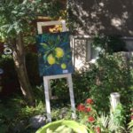 Paintings by Tammy Watt at Naested Studio Party & Art in the Garden Show & Sale