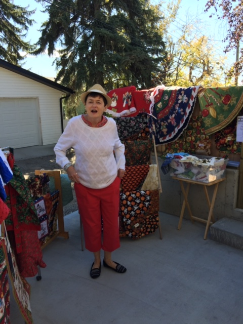 Joanne Morcom is returning to Passport to the Arts in the Garden, Show & Sale,