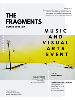 The Fragments Reinterpreted: Art and Music at the Loft 112